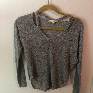 XS Express cut out sweater